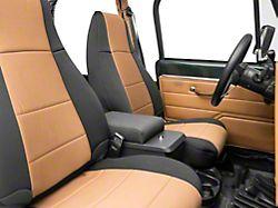 Smittybilt Security Floor Console - Black Denim (87-95 Jeep Wrangler YJ)