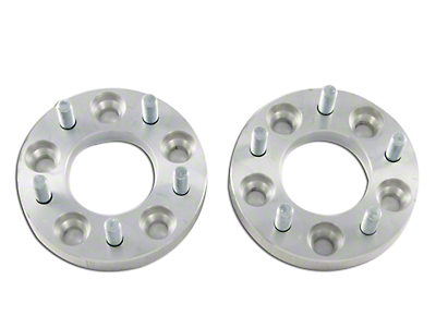 M.O.R.E. 7/8 in. Wheel Spacers - Pair (87-06 Wrangler YJ & TJ)