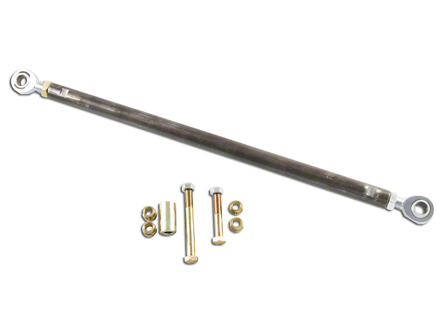 M.O.R.E. Front Double Jointed Trac Bar (87-95 Jeep Wrangler YJ)