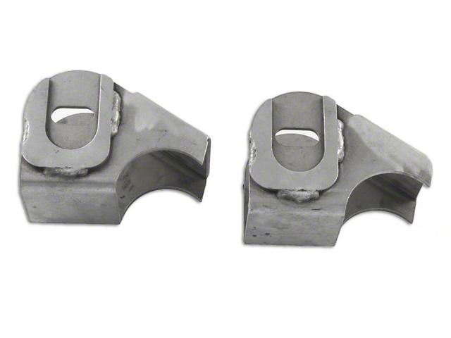 M.O.R.E. Lower Control Arm Brackets (87-18 Jeep Wrangler YJ, TJ & JK)