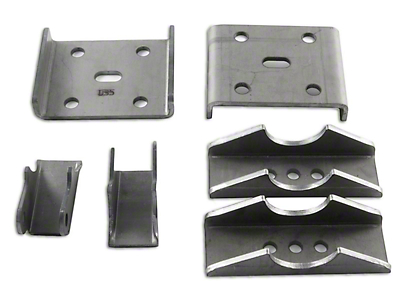 M.O.R.E. Spring Over Kit for Dana 35 Axle (87-18 Wrangler YJ, TJ & JK)