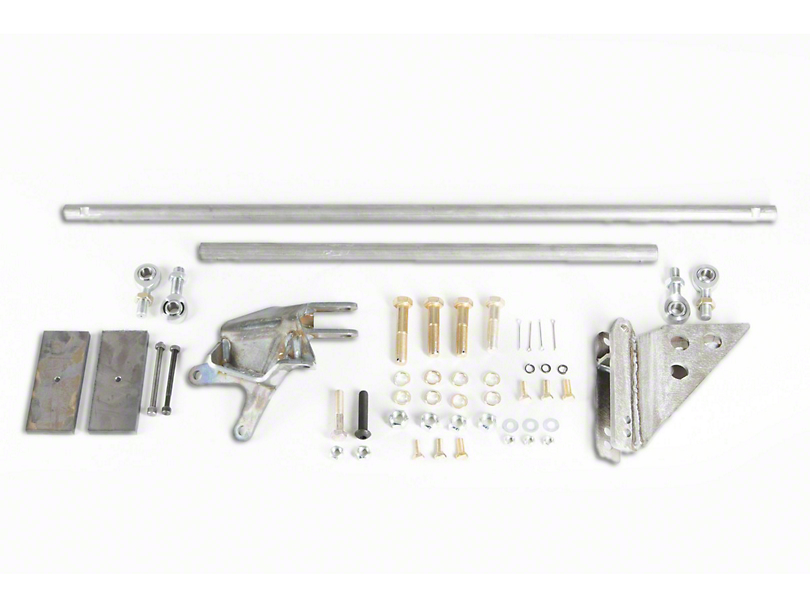 M.O.R.E. Steering Correction Kit - Stage 2 (87-95 Jeep Wrangler YJ)