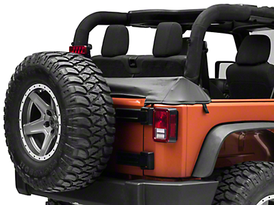 Rugged Ridge Black Diamond Soft Top Storage Boot (07-18 Wrangler JK 2 Door)