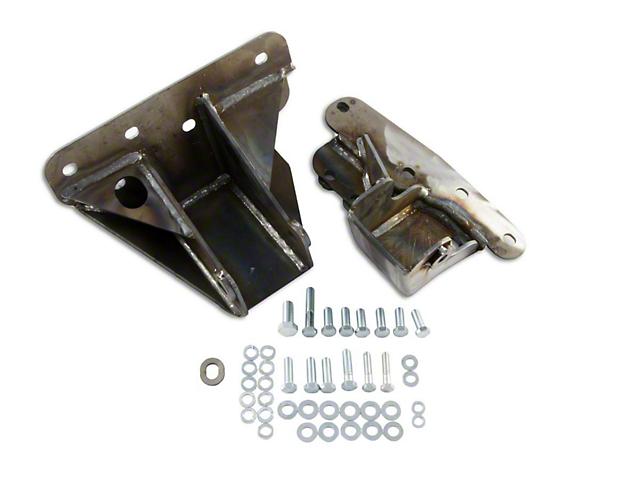 M.O.R.E. Bomb Proof Engine Block Brackets (91-95 4.0L Jeep Wrangler YJ)