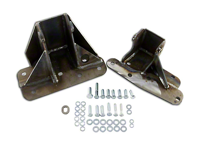 M.O.R.E. Bomb Proof Engine Block Brackets (97-99 4.0L Jeep Wrangler TJ)