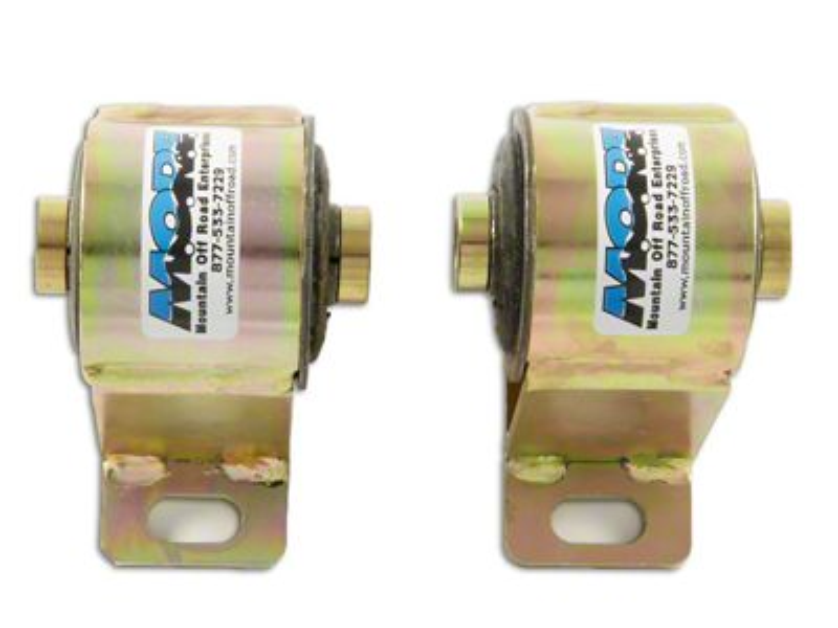 M.O.R.E. Bomb Proof Motor Mounts for 1 in. Body Lift (87-06 4.0L Jeep Wrangler YJ & TJ)