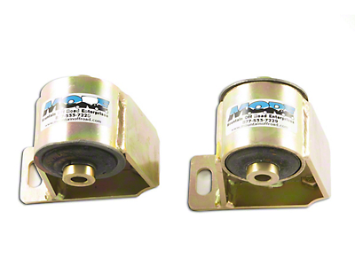 M.O.R.E. Bomb Proof Motor Mounts for 1 in. Body Lift (97-04 2.5L Wrangler TJ)
