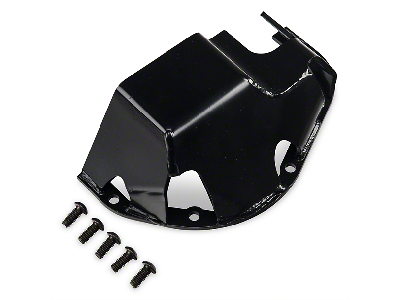 Rugged Ridge Differential Skid Plate For Dana 44 - Black (87-18 Jeep Wrangler YJ, TJ, JK & JL)