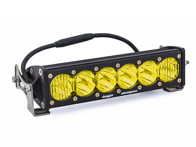 Baja Designs 10 in. OnX6 Amber LED Light Bar - Driving/Combo Beam