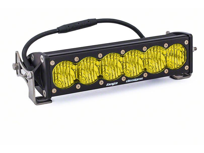 Baja Designs 10 in. OnX6 Amber LED Light Bar - Wide Driving Beam