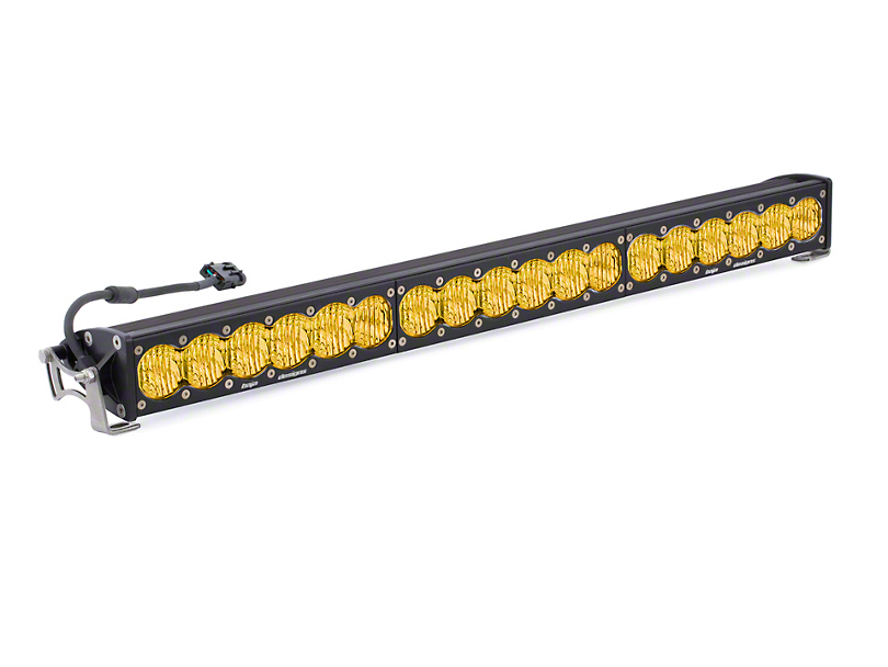 Baja Designs 30 in. OnX6 Amber LED Light Bar - Wide Driving Beam