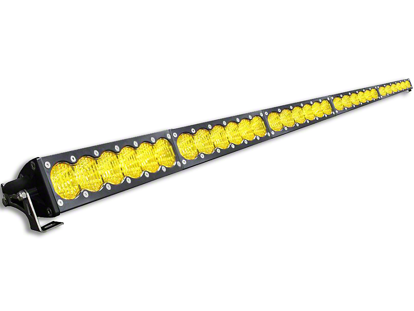 Baja Designs 50 in. OnX6 Amber LED Light Bar - Wide Driving Beam