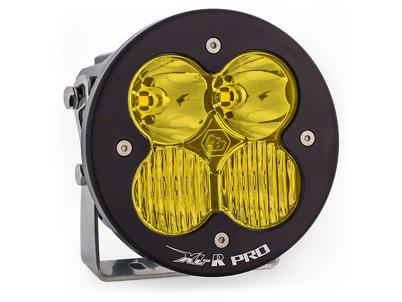 Baja Designs XL-R Pro Amber LED Light - Driving/Combo Beam
