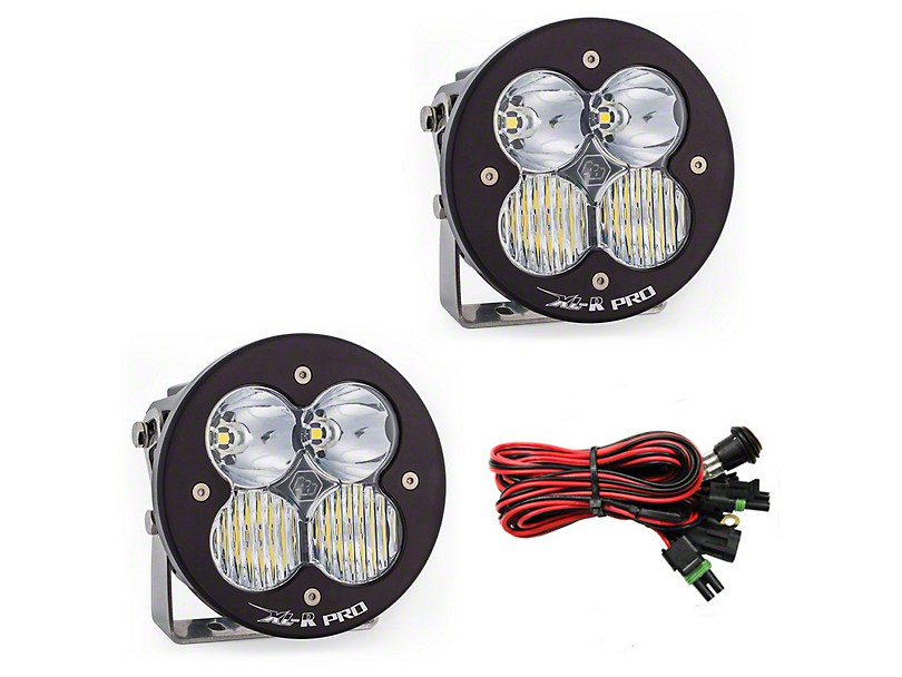Baja Designs XL-R Pro LED Lights - Driving/Combo Beam - Pair