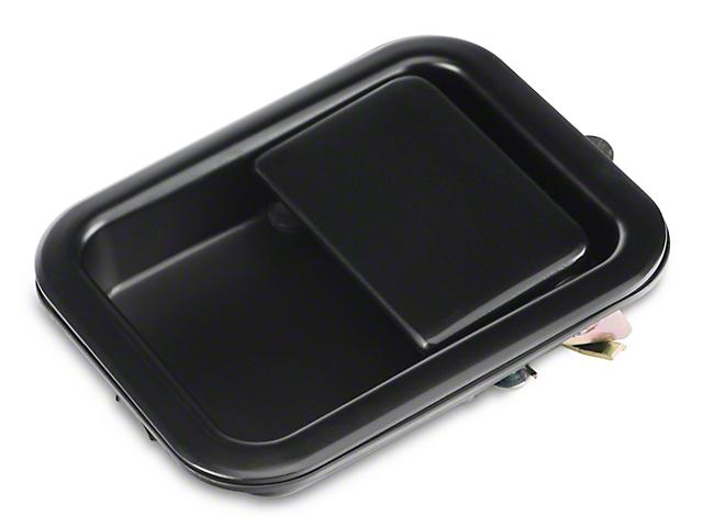Omix-ADA Black Full Steel Door Paddle Handle (87-95 Jeep Wrangler YJ LH, 97-06 Jeep Wrangler TJ RH)