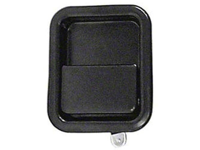 Add Omix-ADA Black Full Steel Door Paddle Handle (87-95 Wrangler YJ RH, 97-06 Wrangler TJ LH)