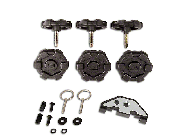 Rugged Ridge Elite Hard Top Quick Removal Kit (07-18 Jeep Wrangler JK 4 Door)