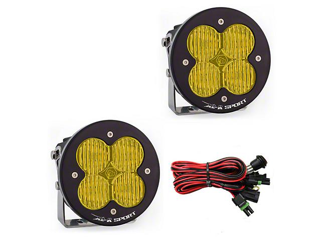 Baja Designs XL-R Sport Amber LED Lights - Wide Cornering Beam - Pair