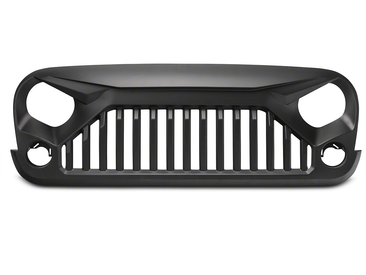 Jeep Wrangler Accessories 2017 >> Exterior Accessories Gladiator Vader Grille Front Matte