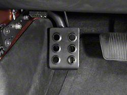 RedRock 4x4 Dead Pedal; Driver Side (07-18 Jeep Wrangler JK w/ Automatic Transmission)