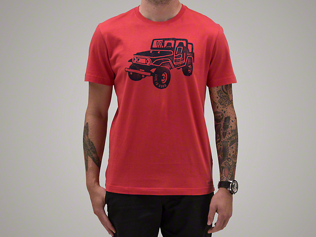 Men's Offroad 4x4 Crusher T-Shirt - Red
