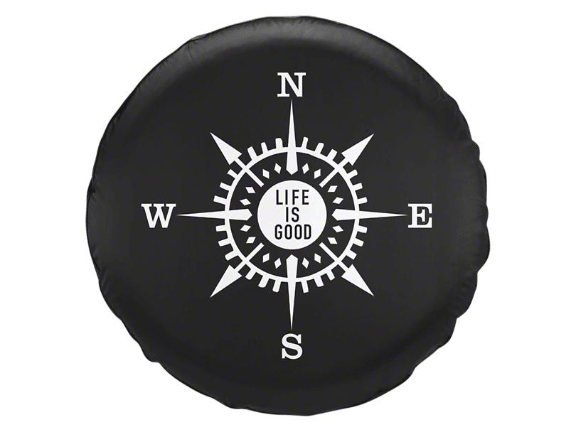 Compass Tire Cover (87-20 Jeep Wrangler YJ, TJ, JK & JL)