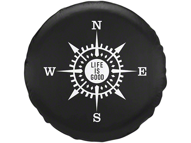 Compass Tire Cover (87-19 Jeep Wrangler YJ, TJ, JK & JL)
