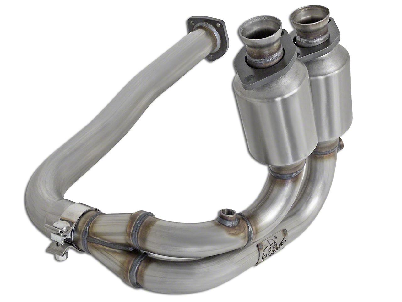 AFE Direct Fit Catalytic Converter - Front (00-03 4.0L Wrangler TJ)