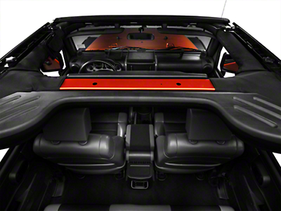 Rugged Ridge Interior Comfort Kit - Black (07-10 Wrangler JK 4 Door)