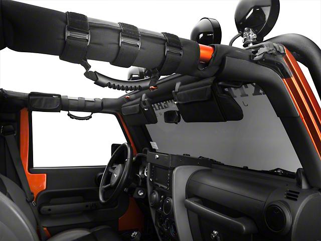 Rugged Ridge Interior Upgrade Kit - Black (07-09 Wrangler JK 4 Door)