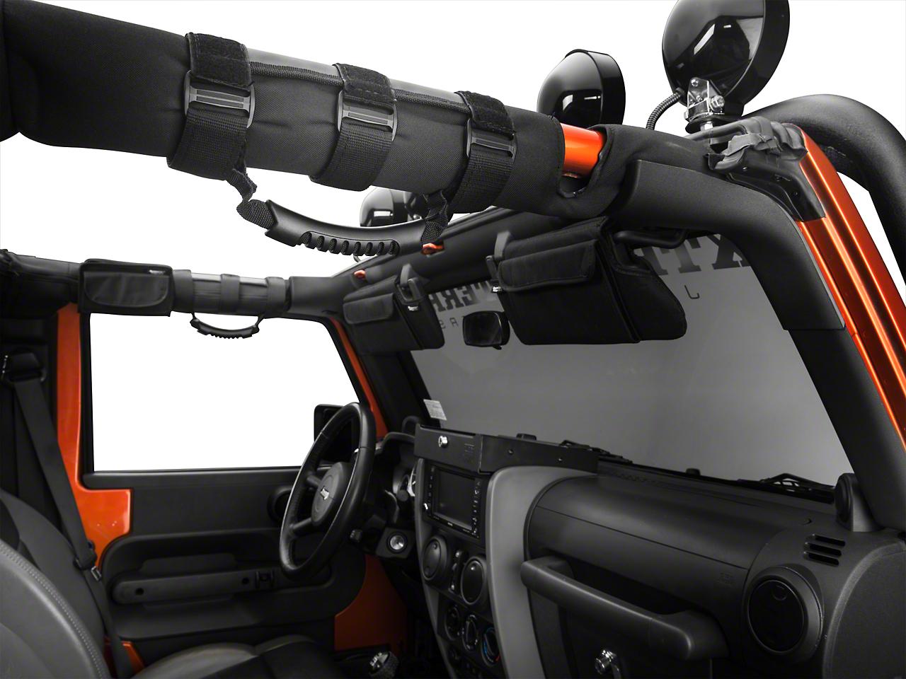 Rugged Ridge Interior Upgrade Kit - Black (07-09 Jeep Wrangler JK 4 Door)