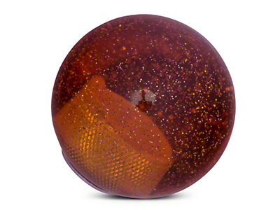 RedRock 4x4 Orange Metal Flake Shift Knob (97-06 Wrangler TJ)