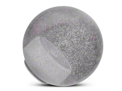 RedRock 4x4 Clear Metal Flake Shift Knob (97-06 Wrangler TJ)
