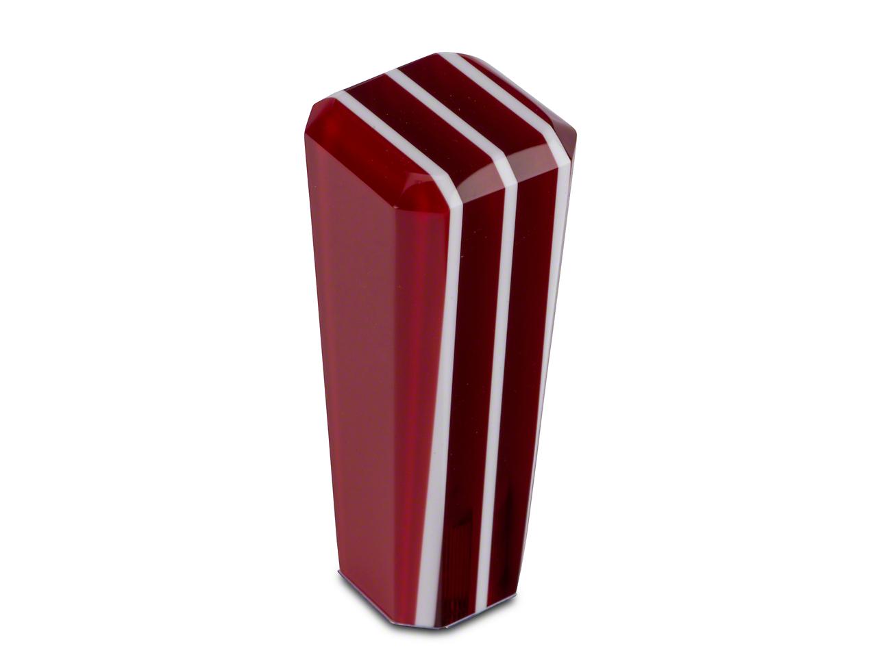 RedRock 4x4 Red Stripe Stix Shift Knob (97-06 Wrangler TJ)
