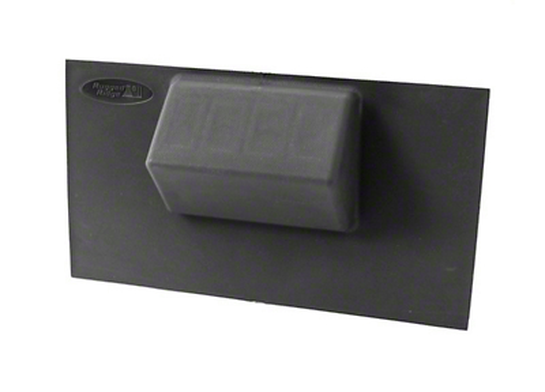 Rugged Ridge Black Lower Console Switch Panel (07-10 Wrangler JK w/ Automatic Transmission)