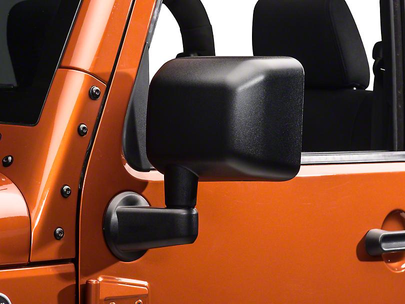 Rugged Ridge Black Mirror Kit (07-18 Jeep Wrangler JK)