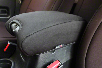 Rugged Ridge Neoprene Center Console Armrest Pad - Black (11-18 Wrangler JK)