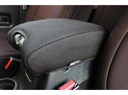 Rugged Ridge Center Console Armrest Cover; Black (11-18 Jeep Wrangler JK)