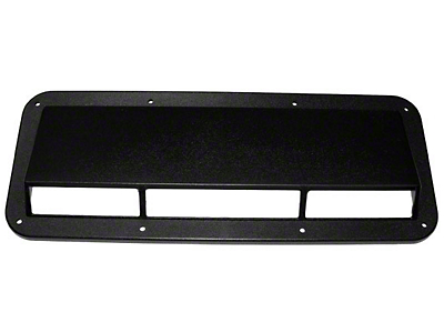 Rugged Ridge Black Plastic Air Scoop (87-95 Wrangler YJ)