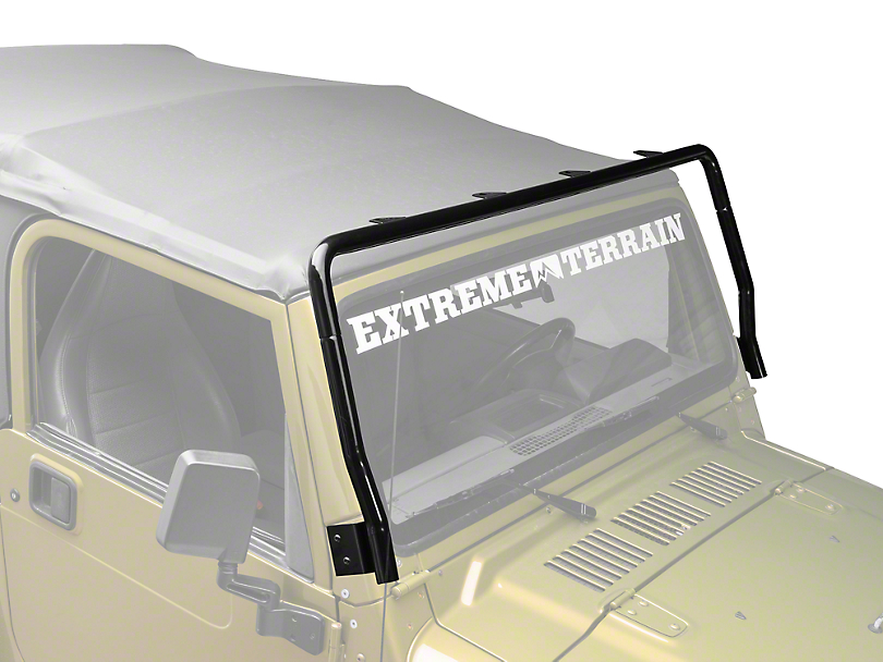 Rugged Ridge Black Powder Coated Light Bar (97-06 Jeep Wrangler TJ)