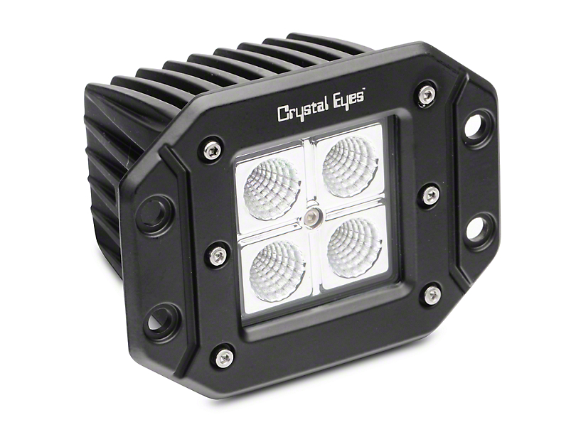 Alteon 5 in. Work Flush Mount LED Cube Light - 60 Degree Flood Beam