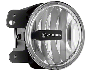 KC HiLiTES 4 in. Gravity G4 Amber LED Replacement Fog Light (07-09 Wrangler JK)