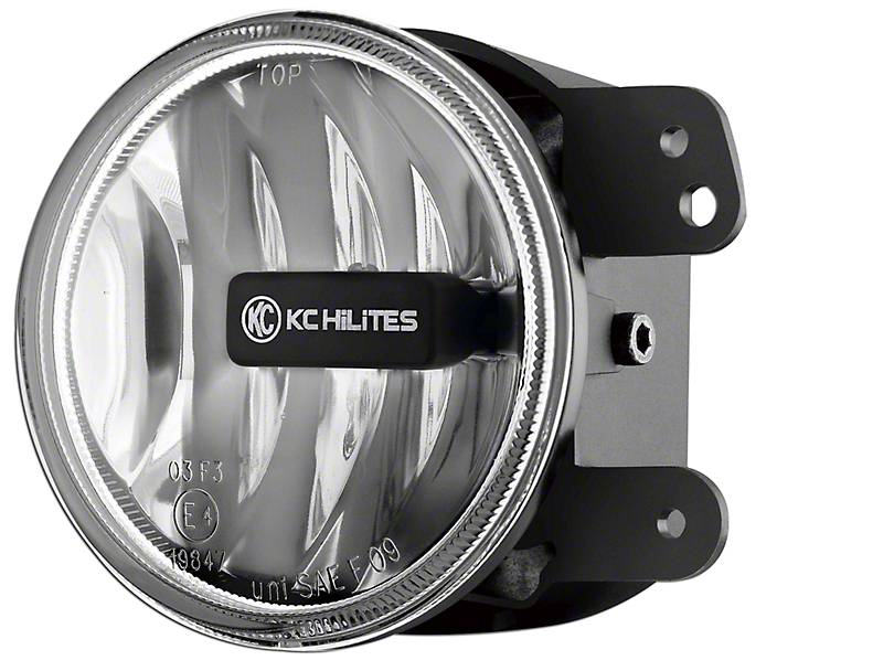 KC HiLiTES 4 in. Gravity G4 Amber LED Replacement Fog Light (10-18 Jeep Wrangler JK)