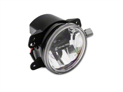 KC HiLiTES 4 in. Gravity G4 Clear LED Replacement Fog Light (10-18 Jeep Wrangler JK)