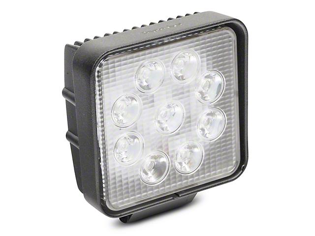 4 Inch Work Visor LED Cube Light; 60 Degree Flood Beam