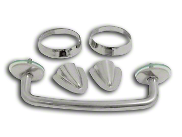 RT Off-Road Windshield Tie Down Kit - Stainless (97-06 Wrangler TJ)