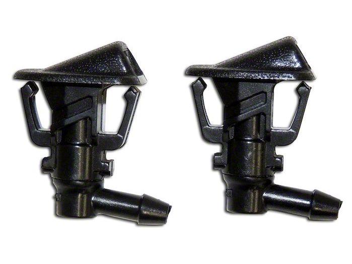 Windshield Washer Nozzle Set (13-18 Jeep Wrangler JK)