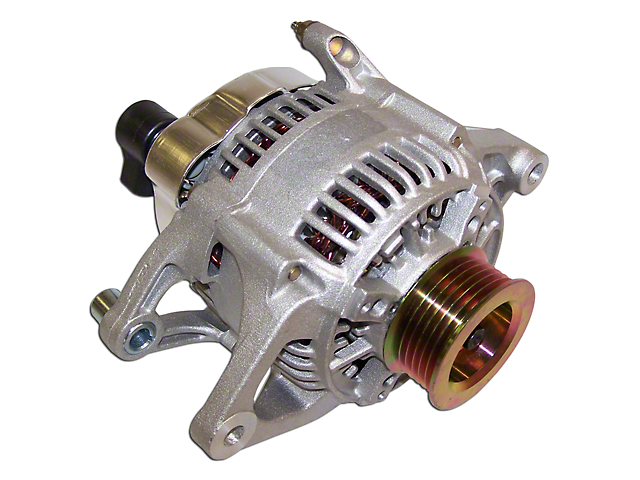 Jeep Wrangler Alternator 90 Amp 91 98 2 5l Or 4 0l Jeep Wrangler