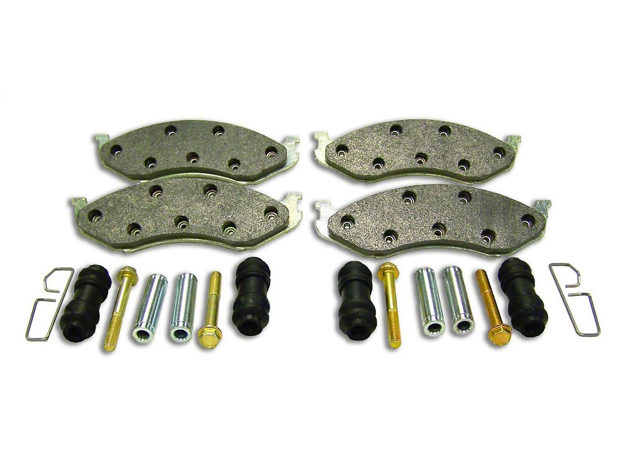 Crown Automotive Brake Pad Master Kit - Front Pair (90-06 Wrangler YJ & TJ)