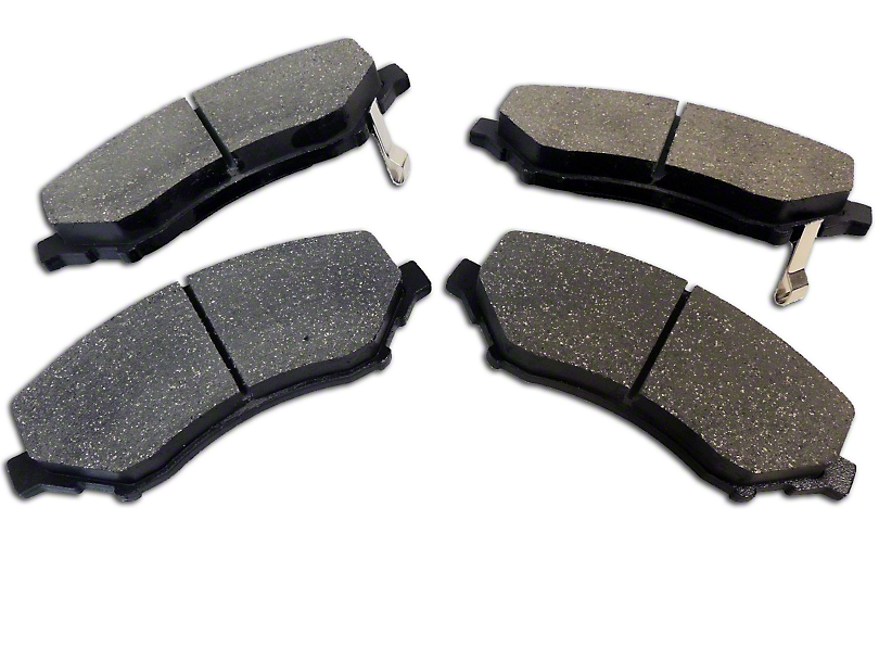 Brake Pads - Front Pair (07-18 Jeep Wrangler JK)
